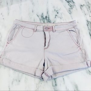 Anthropologie Light Pink Chino Shorts